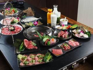 台南【燒肉神保町 】牛肉/豚肉平假日雙人御膳套餐券