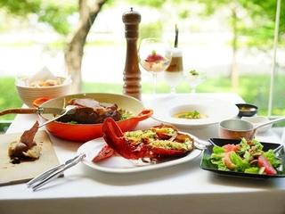 高雄【安多尼歐法式餐廳】 美國安格斯16oz肋眼牛排雙人套餐-贈烤波士頓活龍蝦一隻(價值NT$1400)