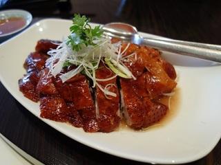 台北【台北君悅酒店-漂亮中式海鮮餐廳】黃金燒鵝四人歡享券