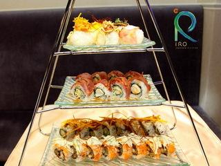 台北【iRO 新日式料理 iRO Japanese Cuisine 】招牌創意壽司塔雙人套餐