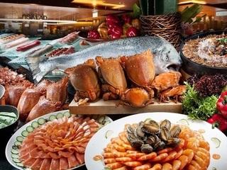 電子餐券-台南【漢來海港自助餐廳-南紡夢時代 4F】平日晚餐券