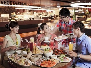 電子餐券-台南【漢來海港自助餐廳-南紡夢時代 4F】假日午/ 晚餐券