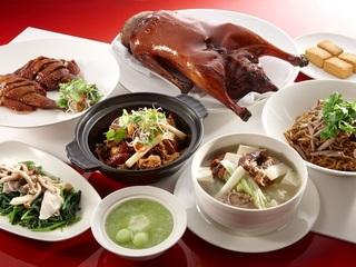 台北【漂亮中式海鮮餐廳 - 君悅酒店】黃金片皮燒鵝歡享四人餐券