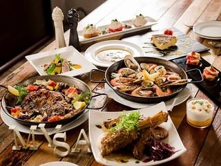 台北【MVSA西班牙酒莊餐廳】歡慶謝師宴豪華分享餐(12人適用)