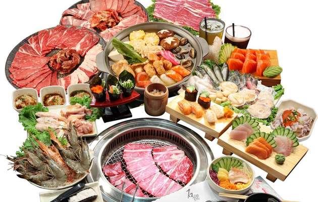 高雄【石頭日式燒肉(左營館)】燒烤吃到飽,平日晚餐、假日午/晚餐一客