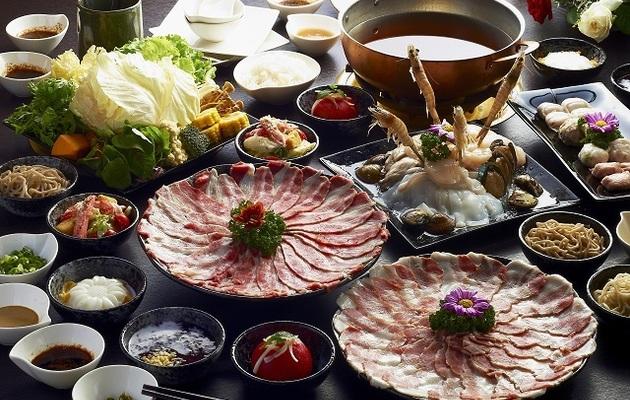 高雄【銅花精緻涮涮鍋】平日頂級海陸雙人套餐券