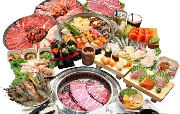 台中【石頭日式燒肉(漢口總館)】燒烤吃到飽,平日晚餐、假日午/晚餐一客
