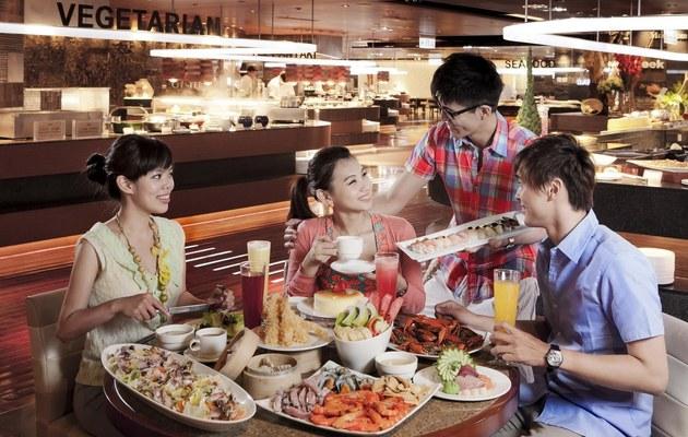台中廣三Sogo【漢來海港自助餐廳】平日午餐券