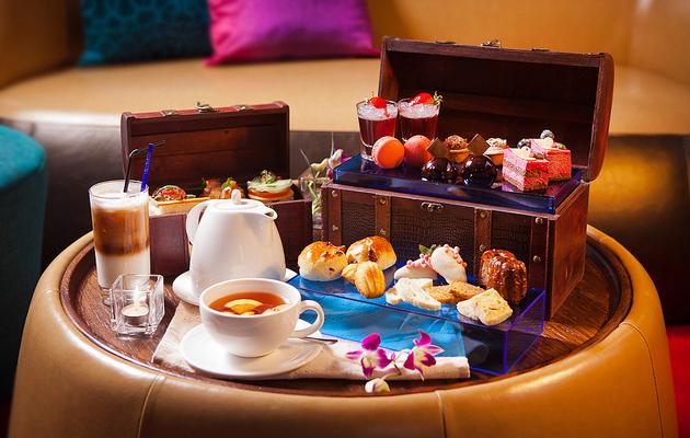 新竹【OCEAN BAR - 芙洛麗大飯店】$480可享平假日珠寶盒雙人下午茶(原價$572)
